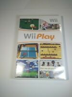 Wii Play Game (Nintendo Wii) with Manual