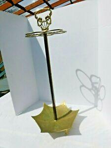 vtg brass umbrella stand
