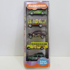 2000 Matchbox Nichelodeon 5 Diecast Cars Gift Pack, New in Box