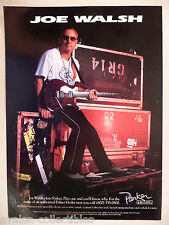 Joe Walsh for Parker Guitars PRINT AD - 1999 ~~ guitar