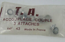 TA Chainring Bolts # 43 3 Attaches T.A. 3 Arm professional Crankset Bicycle NOS