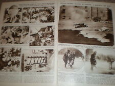 Photo article gas mask production and attack training in Germany 1932