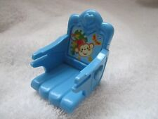 FISHER PRICE Loving Family Dollhouse BLUE BOOSTER SEAT ~ Jungle Theme ~  No tray