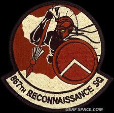 USAF 867th RECONNAISSANCE SQUADRON – PREDATOR-REAPER DRONE UAV  - ORIGINAL PATCH