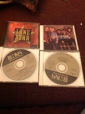 Lot Of 4 Lonestar Promo Cd's 2 Singles , 1-5 Track,