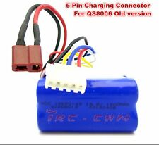 """6 PIN 14.8V 1500MAH BATTERY G.T. 53"""" QS 8006 RC HELICOPTER PARTS QS8006 -014"""