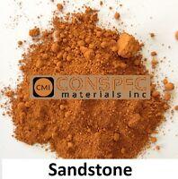 SAND STONE Concrete Color Pigment Dye Pavers Cement Mortar Grout Plaster 3 LBS