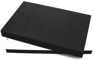 EPDM Zellkautschuk Dichtungsmatte Selbstklebend Moosgummi - 200x300 A4 je Matte