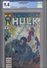 Incredible Hulk #338 CGC 9.4 1987 Marvel  :New Frame
