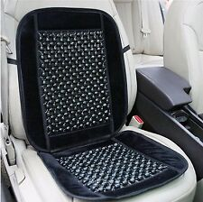 Zone Tech Bamboo Wooden Beaded Seat Massage Cushion Office Chair Car Truck Cover
