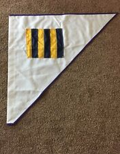 High Quality Cloth Nautical Flag Code Letter G.     A9