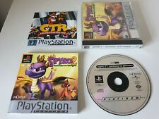SPYRO 2 : GATEWAY TO GLIMMER. PS1 Game. COMPLETE. (PlayStation One, PAL)