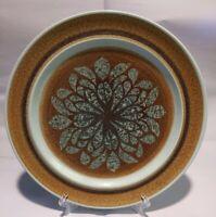 """Franciscan Nut Tree Pattern.10.5"""" Dinner Plate Blue & Brown MCM Vintage"""