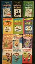 LOT-12 AMAZING CHAPTER BOOKS FOR BOYS! WIMPY KID,GEORGE BROWN,GERONIMO,BIG NATE