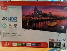 "TCL 55P607 55"" 2160p 4K Ultra HD LED Roku Smart TV"