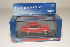 B VANGUARDS VA09500 FORD ESCORT MKI MK1 DRAGOON RED MINT BOXED