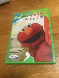elmos potty time dvd
