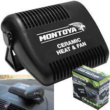 12v Car Fan Heater Heating Windscreen Demister Defroster Windshield Screen Van