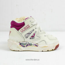 Vintage 90s Guess Athletics Alliance Mid Retro Baby Sneakers Shoes Size 4c