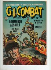 G. I. Combat #13 1954 1 Pre-DC/Quality! Bayonette in Sgt's Back Cover VG 4.0