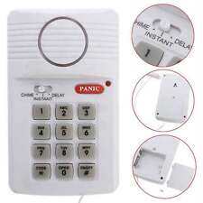 Keypad Key Pad Burglar Alarm System Wireless Home Door Window Security Detector