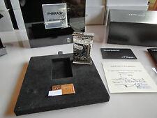 S.T. Dupont Paris Ltd. Edition 2015 PHARAOH PLATINUM Bespoke Serial NEW xxx/500