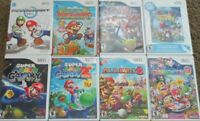 Nintendo Wii game COVERs case ONLY kart party 8 9 paper super bros galaxy smash