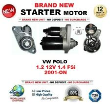 FOR VW POLO 1.2 12V 1.4 FSi 2001-ON STARTER MOTOR BRAND NEW 1.1kW 10 Teeth
