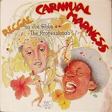 JOE GIBBS AND THE PROFESSIONALS 'REGGAE CARNIVAL MADNESS' US IMPORT LP