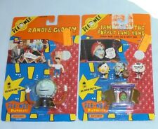 Pee-Wee's Playhouse Jambi and The Puppet Land Band Randy Globey Figure Toy 1988