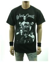 85f98d49 Hip Hop Music Graphic T-Shirt WEST COAST Legend Casual Fashion Printed  Urban Tee