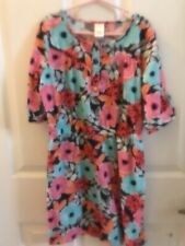 Girl's Floral Dress Gymboree Brand Size 10 Preowned