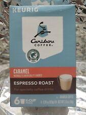 Keurig Caribou Coffee - Caramel 6 K-Cup.Exp.04/20