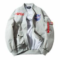 Details about Men Bomber GreenN Satin Jacket Light Lined Between Seasons MA 1 Flight Jacket