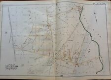 1889 G.W. BROMLEY OLNEY UNIONVILLE PHILADELPHIA PA COPY PLAT ATLAS MAP