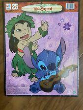 25 Piece Jigsaw Puzzle with Frame Disney Lilo and Stitch Hawaii Girl