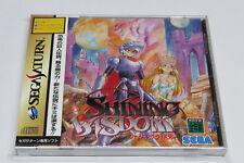 Shining Wisdom Sega Saturn Japan Jpn * bon état + Spine & AUTOCOLLANTS *