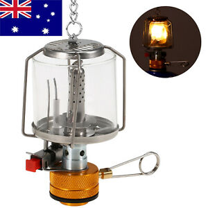 Outdoor Portable Camping Gas Lantern Piezo Ignition Gas Tent Lamp Light