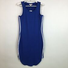 Ultra Flirt Juniors Dress Casual Sleeveless Blue Bodycon Stretch Size Medium