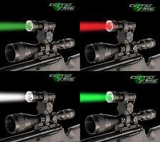 Opticfire® Nano-Zoom lamp scope mount gun light lamping hunting air rifle torch