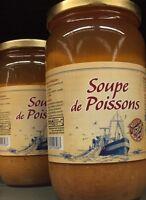Lot revendeur destockage De 3 Bocaux De Soupe De Poisson Dlc Longue