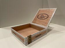 "Empty Wooden Cigar Boxes, Don Rafael, Square, Natural Wood Color, 8""x8""x2"""