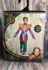 Disney Alice Through The Looking Glass Youth Kids Halloween Costume Size M (7-8)