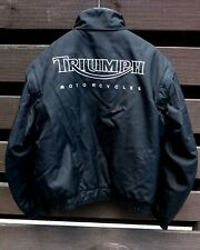 """Triumph motorbike jacket. Large. """"The Triple Collection"""""""