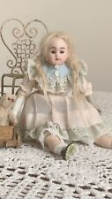Antique Doll French Market Marionette Small Bisque Porcelain
