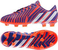 Adidas Predator Firm Ground Junior Football Boots - Red