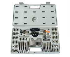 60 Pcs Tap and Die Set Quality Alloy Steel Metric Imperial Thread Taper Drill