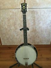 """Banjo 6-saitig Gitarrenbanjo """"Aria"""" von 1982 Vintage schöner Zustand"""