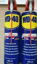 WD40 Aerosol Smart Straw 450ml - TWIN PACK 2 TINS FREE DELIVERY