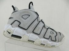 NIKE Air More Uptempo Grey Sz 9.5 Men Scottie Pippen Basketball Shoes